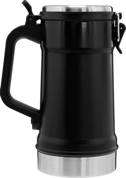 Classic Beer Stein - Vacuum Insulated with Lid - 24oz