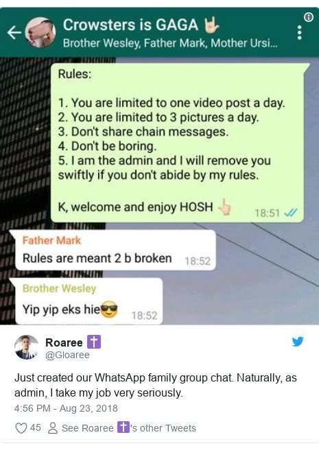 whatsapp chat person status avoid admin created being copyright very