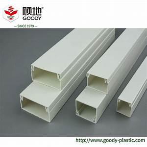 China Electric Cable Wire Protection Pvc Pipe Trunking
