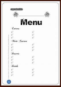 6 Best Images of Printable Blank Restaurant Menus - Free ...