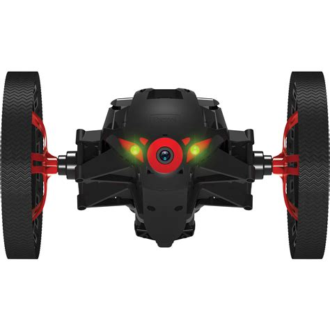 parrot jumping sumo minidrone black pf bh photo video