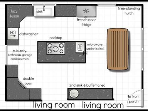 Kitchen Plans  Kitchen Design Plans  Youtube