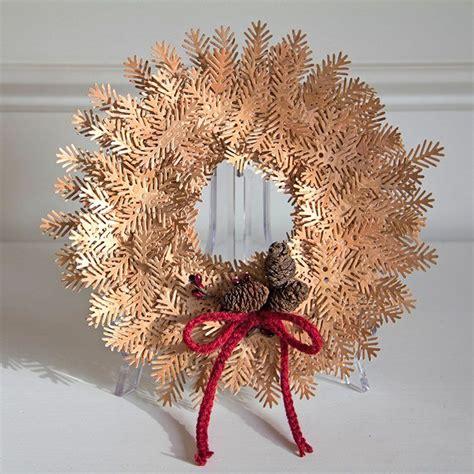 cherry wood bough wreath  paper blogs