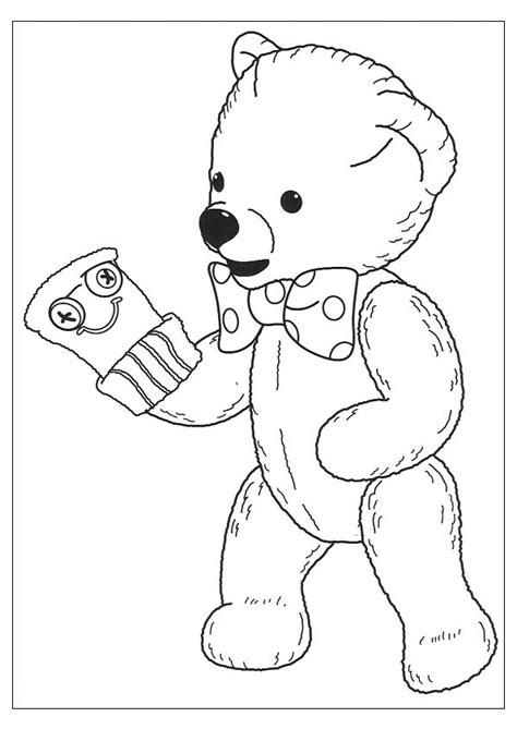 dessins de coloriage nounours  imprimer