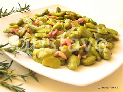 comment cuisiner des feves seches fèves fraîches aux lardons et à la sarriette la recette