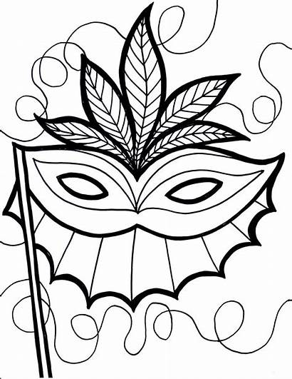 Gras Mardi Coloring Pages Printable