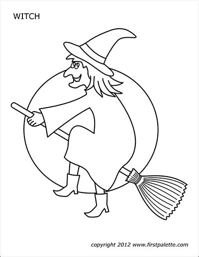 halloween printables page   printable templates coloring pages firstpalettecom