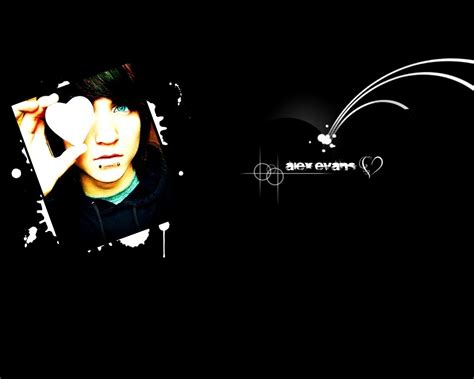 Alex Evans Emo Wallpaper 6657607 Fanpop