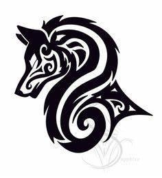 Tatouage Loup Celtique : tatouage tatouage tribal conceptions de loup d part wolf tattoos tribal tattoos et tattoos ~ Farleysfitness.com Idées de Décoration