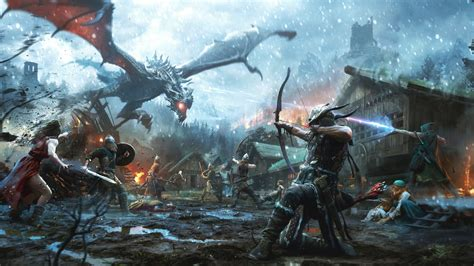 The Elder Scrolls Video Game 4k Hd Games 4k Wallpapers
