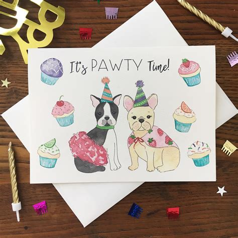 With that in mind, here are some lighthearted happy birthday puns to share with a spouse, friend, family member. Dog Pun Card. Pun Birthday Card. Bulldog Card. French Bulldog