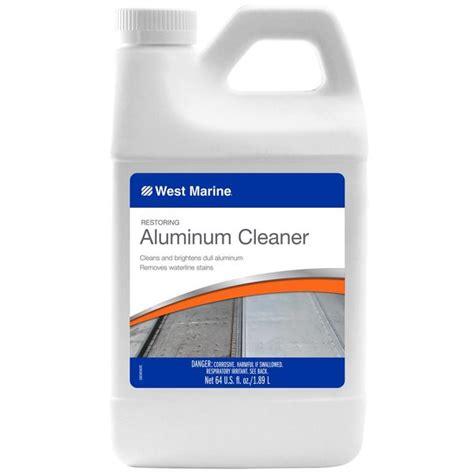 Aluminum Boat Cleaner by West Marine Aluminum Boat Cleaner 64oz West Marine