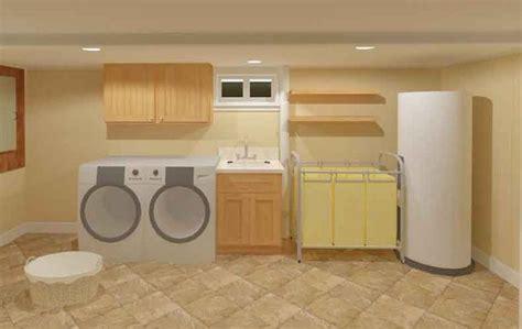 basement laundry room ideas images  pinterest