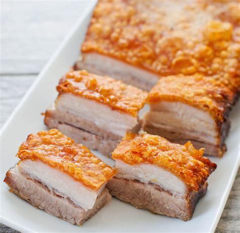 so cook cuisine crispy golden pork belly kirbie 39 s cravings