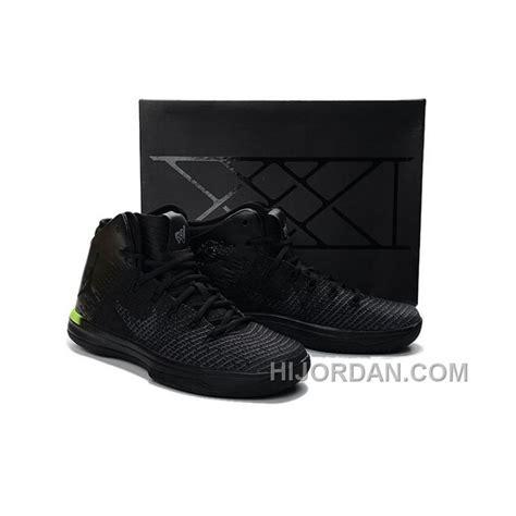 2018 Air Jordan 31 Xxxi Russell Westbrook Pe Black Volt