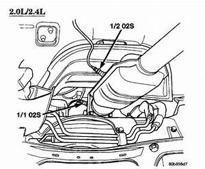 Dodge Stratus 2 4 Engine Diagram Oxygen Sensor