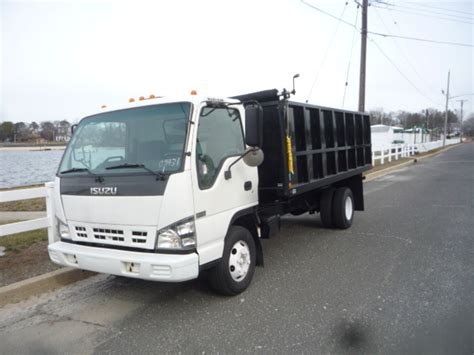 Used 2007 Isuzu Npr Dump Truck For Sale In Nj #11133