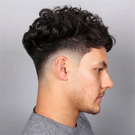 30 Prime top Trend Fade Haircut Styles For Curly Hair for