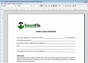 word processor program and property management forms With documents for word processor