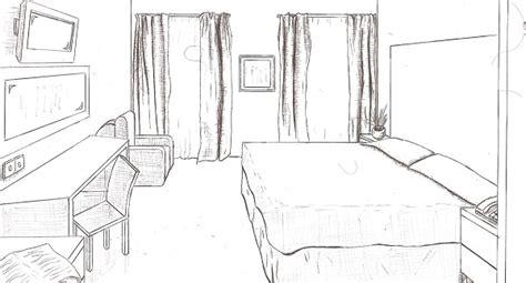 dessin d une chambre chambre ado dessin idées de décoration et de mobilier