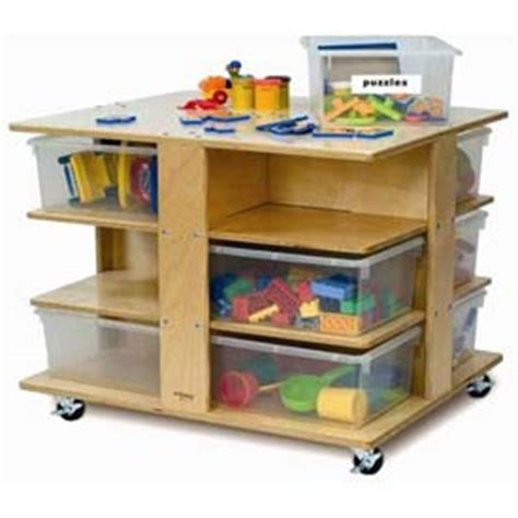 school furniture preschool cubbies mobile cubby tower 519 | 99608