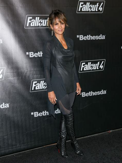 halle berry cowl neck top halle berry clothes