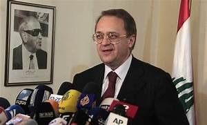 Russian deputy FM, Serbian ambassador . meet in Moscow ...