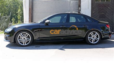 audi sedan spied camouflage frankfurt debut expected