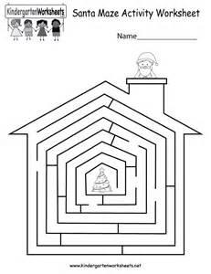Kindergarten Maze Worksheets Free Printables
