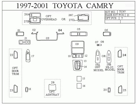 similiar 1997 toyota camry fuse box diagram keywords toyota camry fuse box diagram in addition 1997 toyota camry fuse box