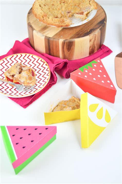 diy printable fruit slice pie boxes club crafted
