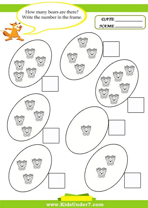 printable kindergarten math worksheets one less worksheet kids for x math worksheets 4 kids
