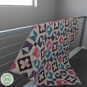Criss Cross Quilt Pattern   U2013 Powered By Quilting
