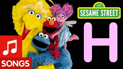 elmo letter of the day song sesame letter h letter of the day