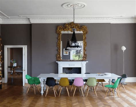 colorful dining room chairs in search of the modern white dining table
