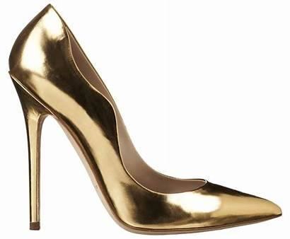 Pump Atwood Brian Heel Gold Besame Leather