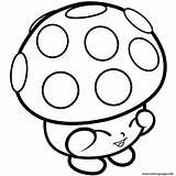 Shopkins Coloring Pages Mushy Miss Moo Mushroom Printable Season 1s Limited Colouring Edition Books Shopkin Bubbles Colour Info Wanted Colorings sketch template