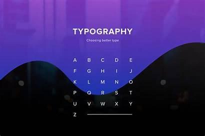 Typography Type Break Choose Medium Designer Choosing