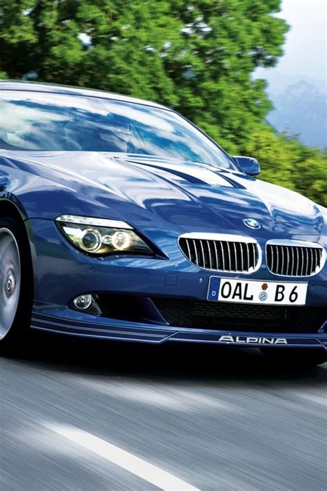 Alpina Bmw Series Blue Cars Wallpaper Allwallpaper