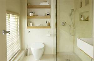 Kleine Badezimmer Ideen : kleine badezimmer dusche toilette regale idee ideen rund ums haus pinterest design ~ Sanjose-hotels-ca.com Haus und Dekorationen