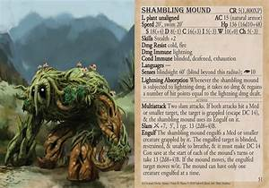 5e creature decks beasts oozes plants shambling