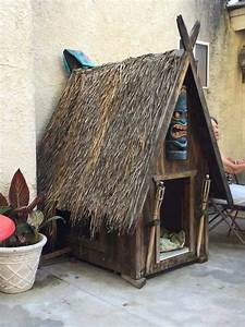tiki kennel pinterest With tiki dog house