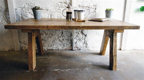 Square, round, and rectangle are all here. reclaimed wood farmhouse coffee table by revive joinery | notonthehighstreet.com