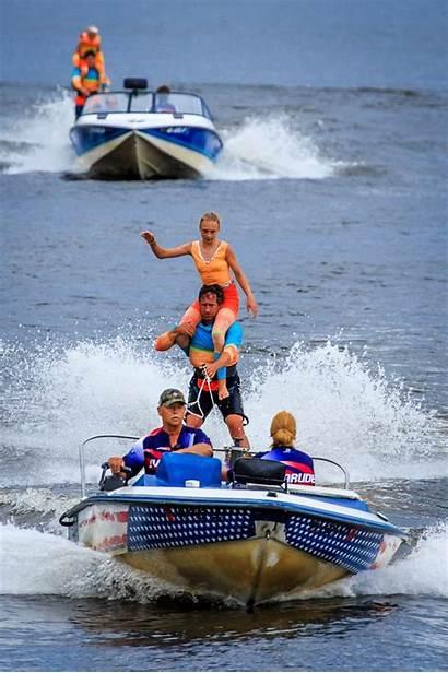 Water Ski Waterski Days Skis Lake Commerce
