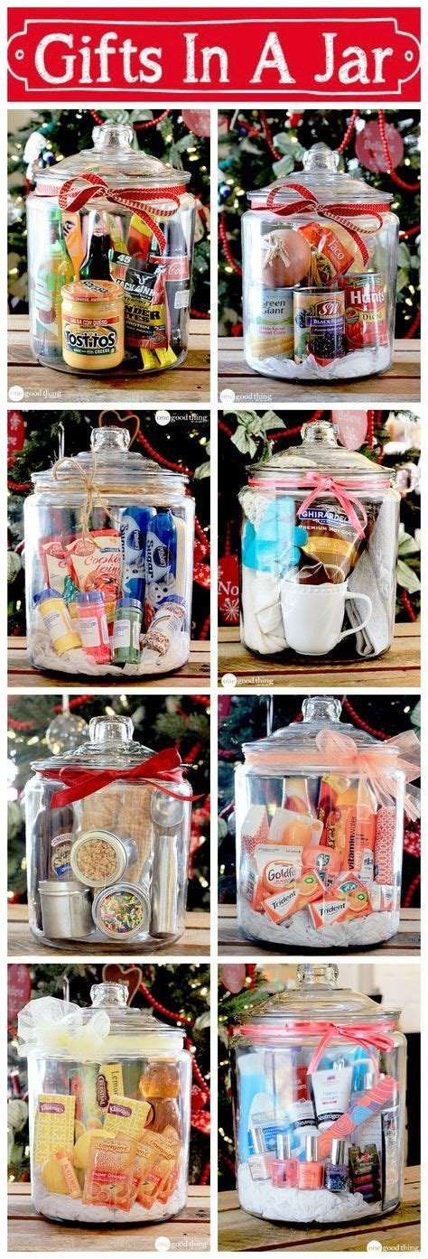 gifts in a jar simple inexpensive and fun jars