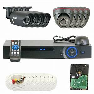 8 Channel Dvr Hd 2 0mp 1080p Hd  Indoor Home