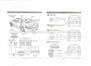 With Led Display Front Parking Sensor China  Mainland  Car
