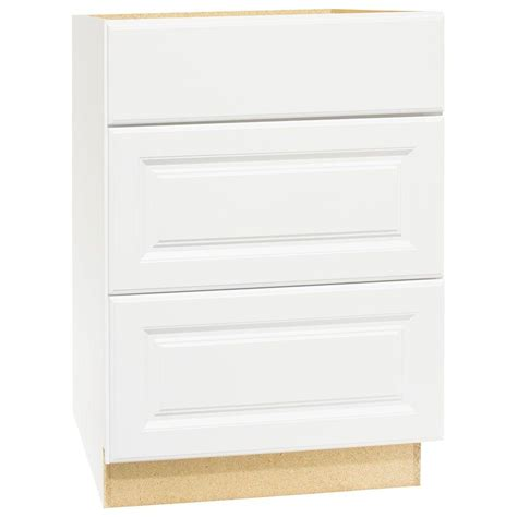 3 drawer base kitchen cabinet hton bay hton assembled 24x34 5x24 in drawer base