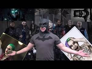 Batman Suicid Squad : jared leto joker batman v superman trailer and the suicide squad casual batman youtube ~ Medecine-chirurgie-esthetiques.com Avis de Voitures