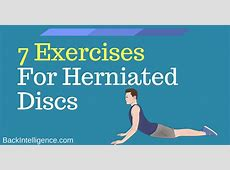 7 Herniated Disc Exercises For Lower Back Also for